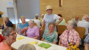 Sommerfest des Zeller Altenwerks – unterhaltsam und e bissli unheimlich