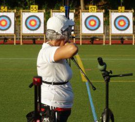 573 Ringe für Sabine Herm  bei der Deutschen Meisterschaft