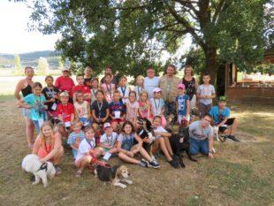 Zwölf Punkte fürs Ferienprogramm »Spiel & Spaß auf dem Hundeplatz«