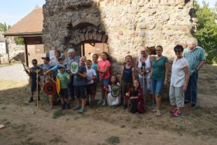 Historischer Verein Nordrach bot Ritterspiele auf der Burg Geroldseck