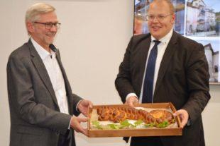Abschluss der Rathaussanierung ist Startschuss für die weitere Erneuerung des Nordracher Ortskerns