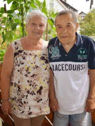 Margherita und Vincenzo Sicuro feiern heute Goldhochzeit