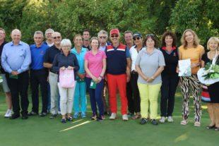 Andrea Breig-Jehle überragte das Intersport Gärtner-Golf-Open