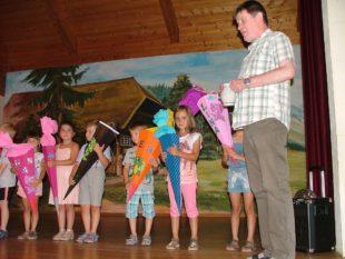 »Schuldrachen« verabschieden sich aus dem Nordracher Kindergarten