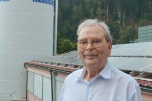 Schreinermeister Franz Alender feiert heute 90. Geburtstag