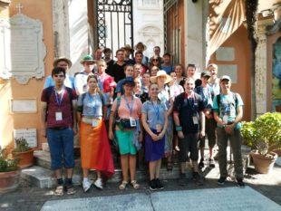 Ministranten pilgerten nach Rom