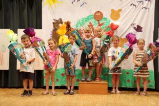 Abschiedsfeier der Schulanfänger des Kindergartens »Wirbelwind«