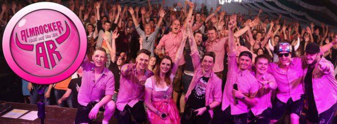 Almrocker feiern Premiere beim Oktoberfest des TV Biberach