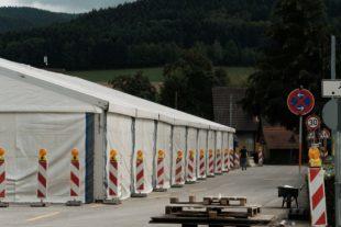 Kilwi-Zelt wartet auf die Besucher