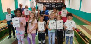SKC Nordrach schiebt mit 13 Kindern keine ruhige Kugel