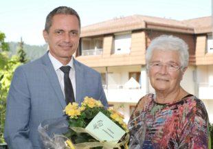 Glückwünsche zum 85. Geburtstag von Gertrud Herrmann