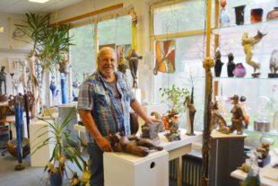 Künstler Hans-Georg Hirschbiel schließt sein Atelier in Steinach
