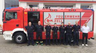 Neues Löschfahrzeug HLF20 an die Zeller Feuerwehr übergeben