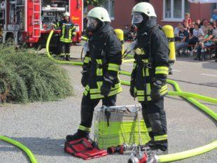 Zum 6. Brandschutztag kamen zahlreiche Besucher