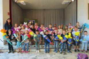27 Schulanfänger in Unterharmersbach