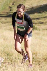 Franziska Schmieder bei den Berglauf-Weltmeisterschaften in Andorra