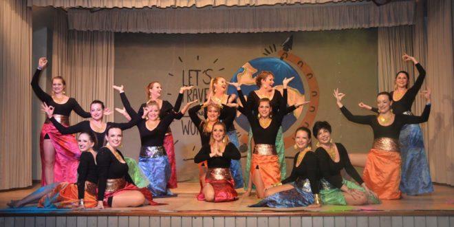Tanzgruppe Charisma bei der Landesgartenschau in Lahr