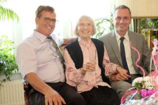 Dorothea Koch feierte 95. Geburtstag
