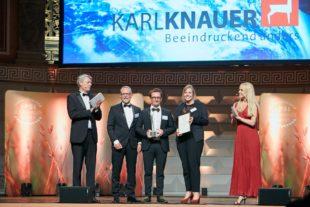 Karl Knauer KG bei PSI Sustainability Awards mehrfach ausgezeichnet