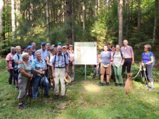Wanderung zu den Nordracher Höhenhöfen und Altglashütten