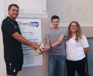 TransLaw spendet Spielball