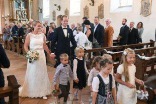 Für Marie und Stefan Gutmann läuteten die Hochzeitsglocken