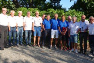 Pokalgewinn für Gröbernhof-Senioren