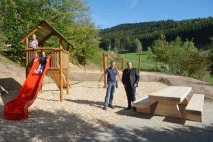 Kinderspielplatz auf dem Grafenberg wurde komplett neu gestaltet