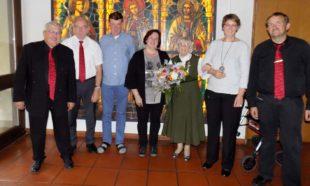 Dorothea Koch feierte 95. Geburtstag im Kreis der Kirchenchöre