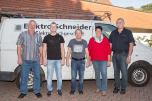 Elektro-Fachgeschäft Schneider feiert am Samstag sein 100-jähriges Firmenjubiläum