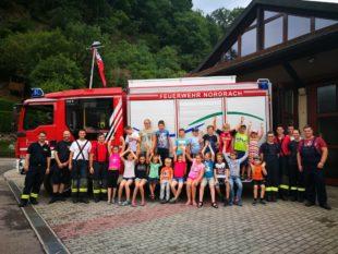 Spiel- und Spaßnachmittag bei der Feuerwehr