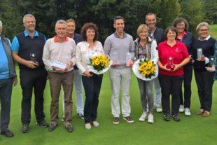 Claudia Osiander und Daniel Groß Sieger der Clubmeisterschaften