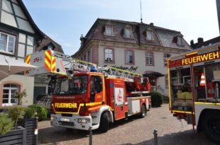 Feuerwehr löschte Mittagessen