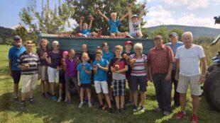 Rekord-Apfelernte im Gröbernhof