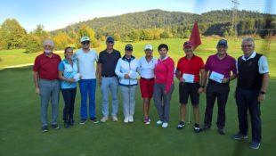 Mit herbstlichem Spieleinfluss geht die Golfturnier-Saison zu Ende