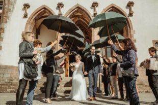 Katharina und Jürgen Schmieder schließen den Bund fürs Leben