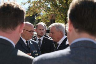 Landesinnenminister zeigt sich beeindruckt von Blaulichtmeile