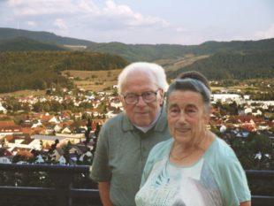 Gertrud und Fridolin Mäntele feiern am Samstag diamantene Hochzeit
