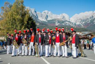 Miliz- und Trachtenkapelle begeistert Publikum beim Blasmusikfestival