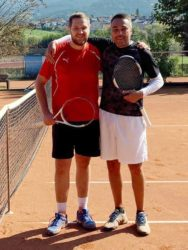 Kai Gysler – dreifacher Clubmeister beim Zeller Tennisclub