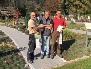 Gärtnerei Rudi Lang ehrt Mitarbeiter