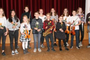 Musikschüler-Konzert fand großen Anklang