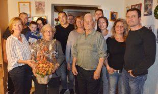 Maria Parisi feierte 80. Geburtstag
