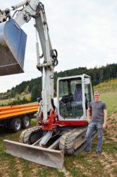 Michael Müller gründet eigenen Baggerbetrieb
