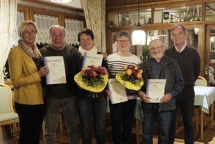 Ehrungen prägten die Mitgliederversammlung des Zeller Turnvereins