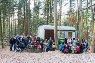 Neuer Waldplatz für Kindergarten St. Barbara