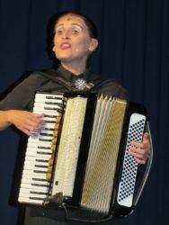 La Signora Carmela de Feo begeisterte ihr Zellkultur-Publikum