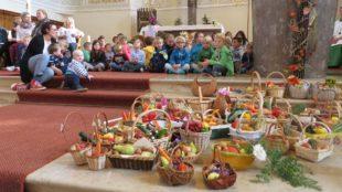 Erntedankfeier in der Pfarrkirche