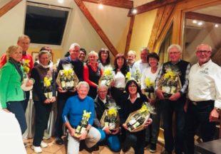 Irmgard und Ludger Aust gewinnen das DaHeGo-Turnier 2018