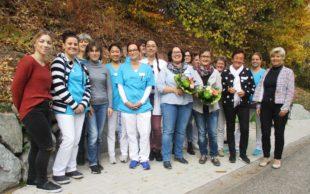 Winkelwaldklinik gratuliert Nadja Jung zur bestandenen Prüfung